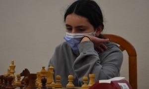 Una edició anterior de la Campionat escolar d'escacs.