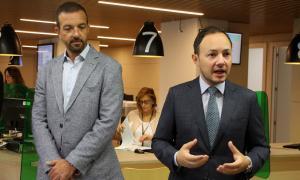 ANA/ El ministre Jordi Torres i el ministre Xavier Espot, aquest matí.