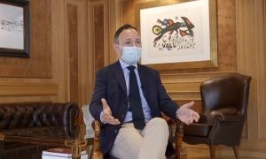 El cap de Govern, Xavier Espot, al seu despatx.