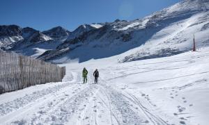 ANA/ Practicants d'esquí de muntanya a les pistes de Grandvalira.