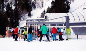 ANA/ Esquiadors a Arcalís.