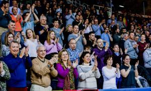 El BC MoraBanc té un gest per 'aplaudir'.