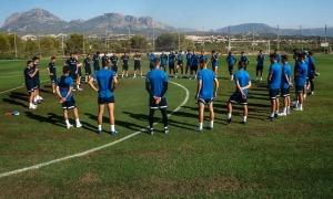 L'FC Andorra dona el seu primer pas d'aquest curs a Benidorm. Foto: FC Andorra