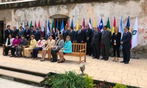 SFG/ La secretària d'Estat d'Afers Socials, i Ocupació, Ester Fenoll, a la Conferència Iberoamericana de ministres de Treball, Ocupació i Seguretat Social.
