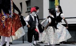 El ball de Santa Anna celebrat avui.
