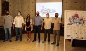 Imatge de la presentació del programa, al saló de plens de l'Ajuntament.