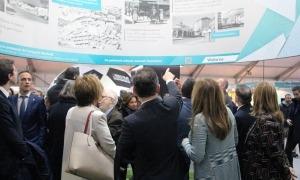 Un moment de la inauguració de la 41a edició de la Fira d'Andorra la Vella.