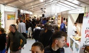 Una edició anterior de la Fira d'Andorra la Vella.