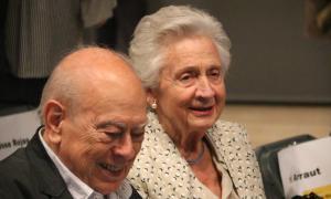 Jordi Pujol i Marta Ferrussola.