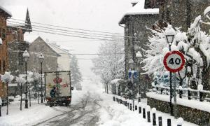La nevada caiguda a Espot, al Pallars Sobirà.