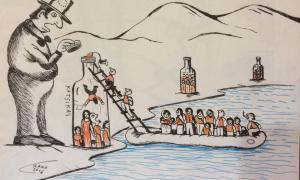Cròniques refugiades #opentheborders:No esteu sols