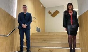 Pallerola, Chief Operating Officer (CCO) de Vallbanc i Marta Ambor, presidenta d'Andblockchain.