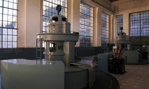 Sala de màquines de la central de FEDA.