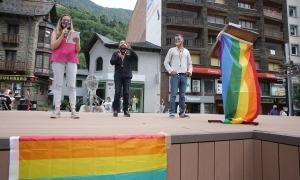 La presidenta de Diversand, Rocio Soler, ha iniciat l'acte festiu.