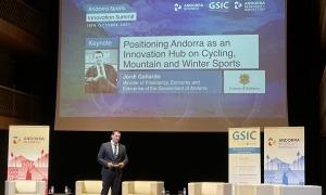 El ministre de Presidència, Economia i Empresa, Jordi Gallardo ha fet l'obertura del congrés.