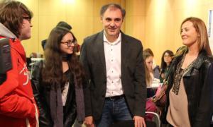 El Govern veu molt positiu per al país que hi hagi ofertes per a Vall Banc Olga Gelabert forum empreses estudiants