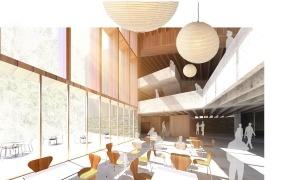 El projecte de construcció del centre que s'ubicarà a Ordino.