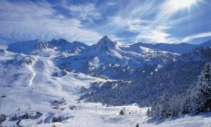 Les pistes d'esquí de Grau Roig.