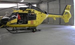 Imatge d'arxiu d'un dels helicòpters de rescat de la Generalitat de Catalunya