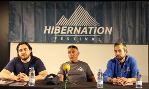 Un moment de la presentació de la tercera edició del festival Hibernation.