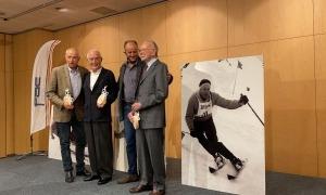 La FAE va organitzar un emotiu homenatge als primers olímpics que va tenir el país.Foto: SFGA