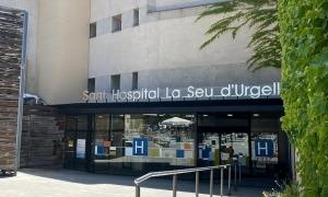 Exterior de l'hospital de la Seu.