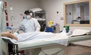 Servei de radiologia de l'hospital de la Seu.