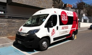 El nou vehicle adquirit per i&i Serveis.
