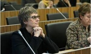 La presidenta del PS, Susanna Vela.