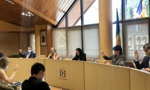 Un moment de la sessió de consell celebrada aquest matí.