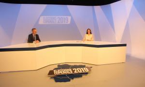 Olga Molné en l'entrevista a ATV
