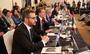 SFG/ Participació del ministre Eric Jover a la Conferència de ministres d'educació iberoamericans.