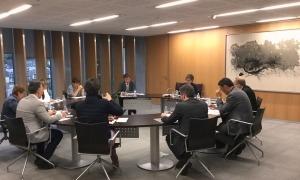 Una reunió anterior de la junta de presidents.