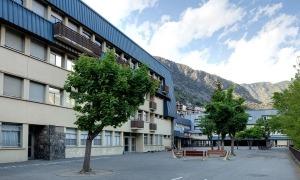 Les instal·lacions del Lycée Comte de Foix.