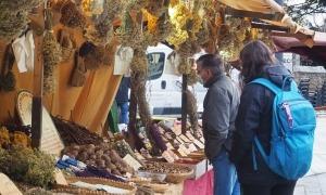 El mercat de Nadal d'Encamp, aquest diumenge.