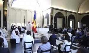 Només deu feligresos per parròquia i cinc autoritats de cada institució han pogut accedir a la basílica.