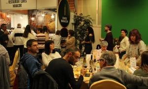 Una edició anterior de la Mostra gastronòmica a Ordino.