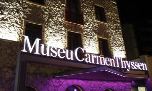 Vista exterior del Museu Carmen Thyssen.