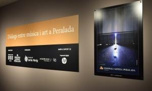 Exposició 'Diàlegs entre música i art'.