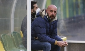 El tècnic asturià no continuarà a la banqueta de l'FC Andorra. Foto: Facundo Santana