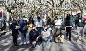 Foto de família dels implicats en la coordinació i producció del programa.