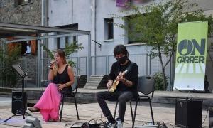 Concert de l'ON-Carrer al Prat del Riu de Canillo.