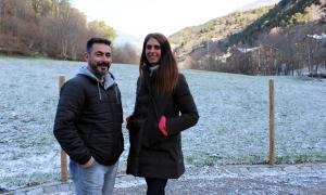 Jord Balsa i Noemí Amador en una imatge d'arxiu.