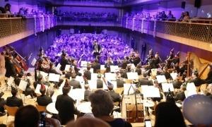 Concer de Cap d'Any de l'ONCA a l'Auditori en l'edidió del 2018 d'Ordino Clàssic.