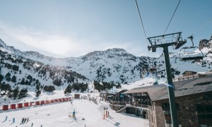 Ordino Arcalís va assolir 1.350 esquiadors per dia de mitjana.