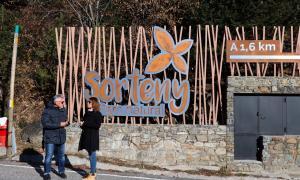 El candidats vav escollir el Parc natural de la Vall de Sorteny per explicar la proposta