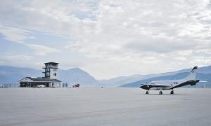 L'aeroport Andorra-la Seu d'Urgell.