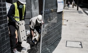 La construcció suposa un 20% del PIB del país i més d'un 13% de la massa salarial.
