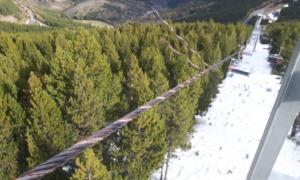 Imatge d'un dels cables dels ginys de l'estació de Pal que van ser danyats intencionadament.