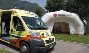 Els tres equips de preventius de la Creu Roja van estar a la zona de Beixalís.